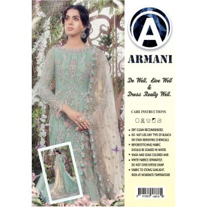 Maria B Armani embroidered with Malai Trouser