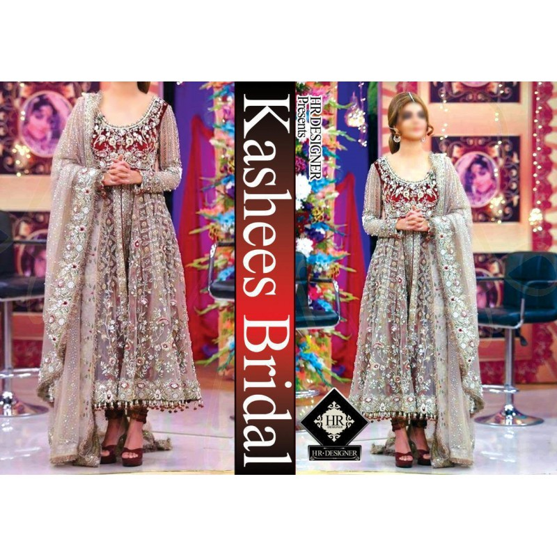 KASHEES Full Suite on net, body Embroidered on Velvet