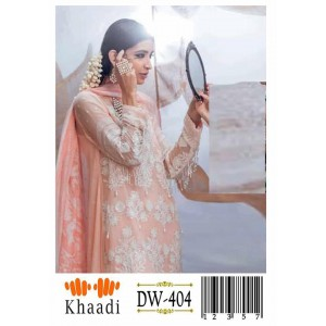 Khaadi 0000404 2  Piece suite in Khaddar stuff with full embroidery