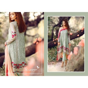 Serene, Green Bamber chiffon 2pc collection